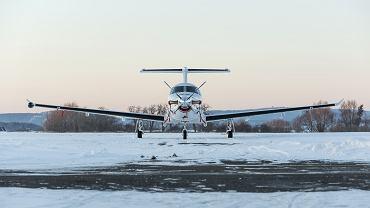 Pilatus PC-12 - zdjęcie ilustracyjne/Fot. https://www.shutterstock.com/