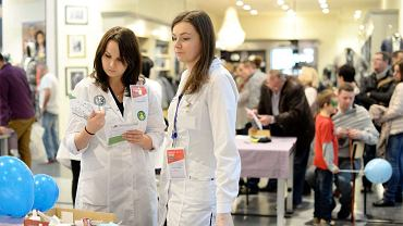 Studentki medycyny z Olsztyna