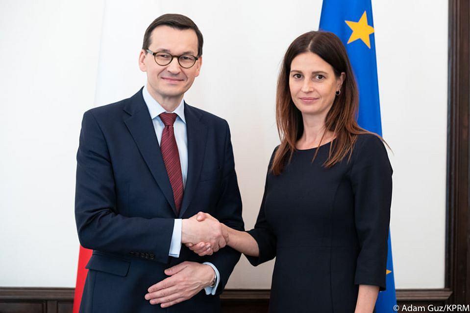 Premier potwierdza: nową minister sportu będzie Dmowska-Andrzejuk