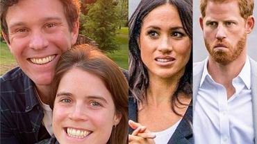 księżniczka Eugenia, Meghan Markle, książę Harry