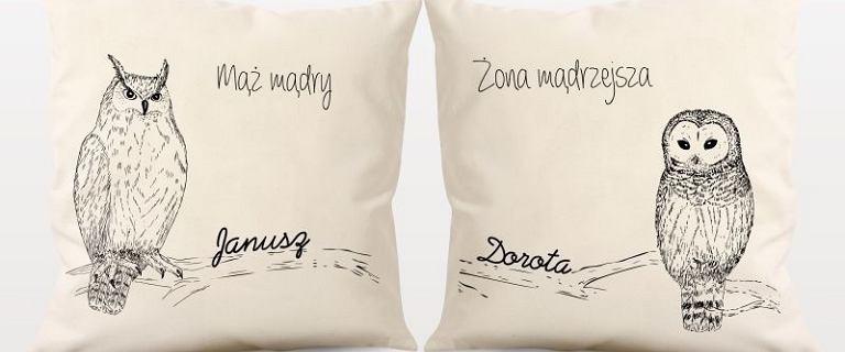 Dekoracyjne poduszki z możliwością personalizacji. Są piękne i mają świetne ceny
