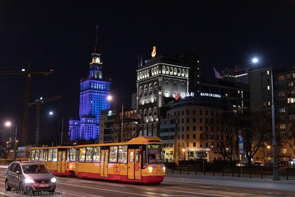 Warszawa symbolicznie wyłączy iluminację