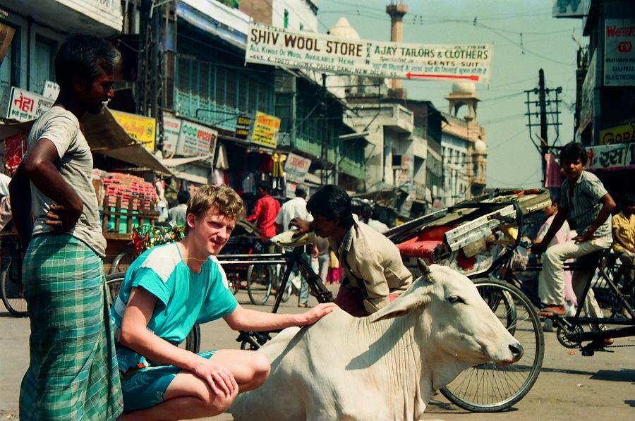 Cezary Borowy, Indie, lata 80.
