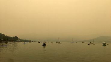 Dym znad Australii dotarł do Nowej Zelandii (na zdjęciu widok z miejscowości Akaroa)