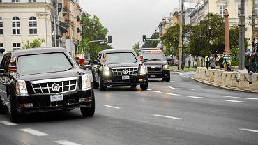 Szczyt NATO w Warszawie. Barack Obama będzie podróżował po stolicy