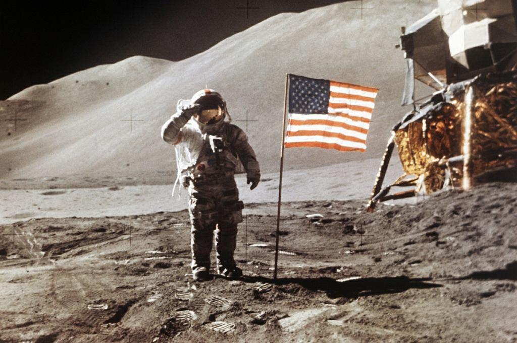 Lądowanie na księżycu w 1971 roku