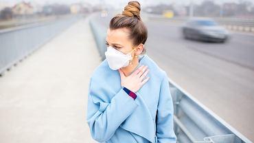 Smog negatywnie wpływa na naszą skórę