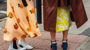 Stylizacje ze spódnicami