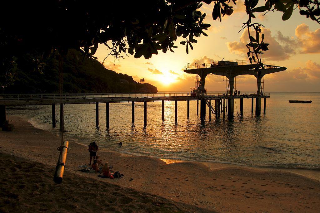 Wyspa Bożego Narodzenia - Flying Fish Cove, stolica wyspy
