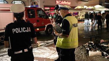 Kierowca hondy potrącił na Monciaku i molo w Sopocie ponad 20 osób