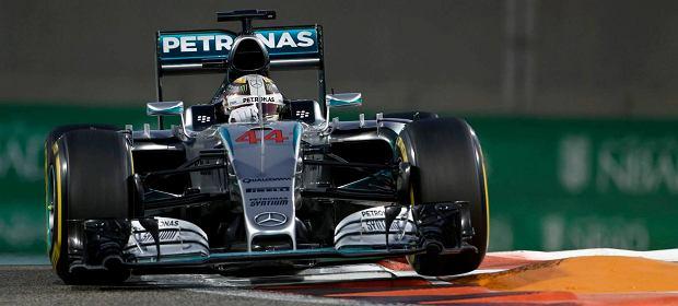 Lewis Hamilton w nowym bolidzie Mercedesa