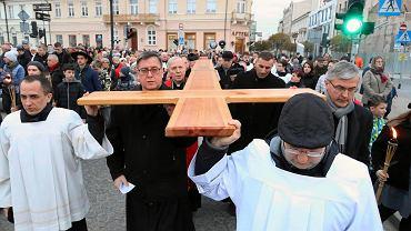 Droga Krzyżowa w Płocku 2019