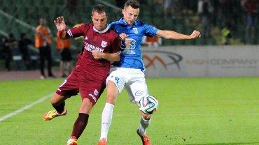 FK Sarajevo - Lech Poznań 0:2. Denis Thomalla
