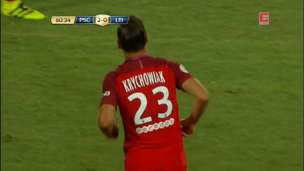 Grzegorz Krychowiak zadebiutował w PSG