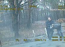 Rybnik. Policjant grupy SPEED pieszo dogonił pijanego kierowcę [WIDEO]