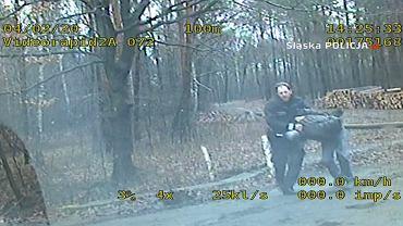 Policjant grupy SPEED pieszo dogonił pijanego kierowcę