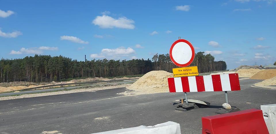 Rozgrzebana budowa S3, odcinek Lubin - Polkowice.