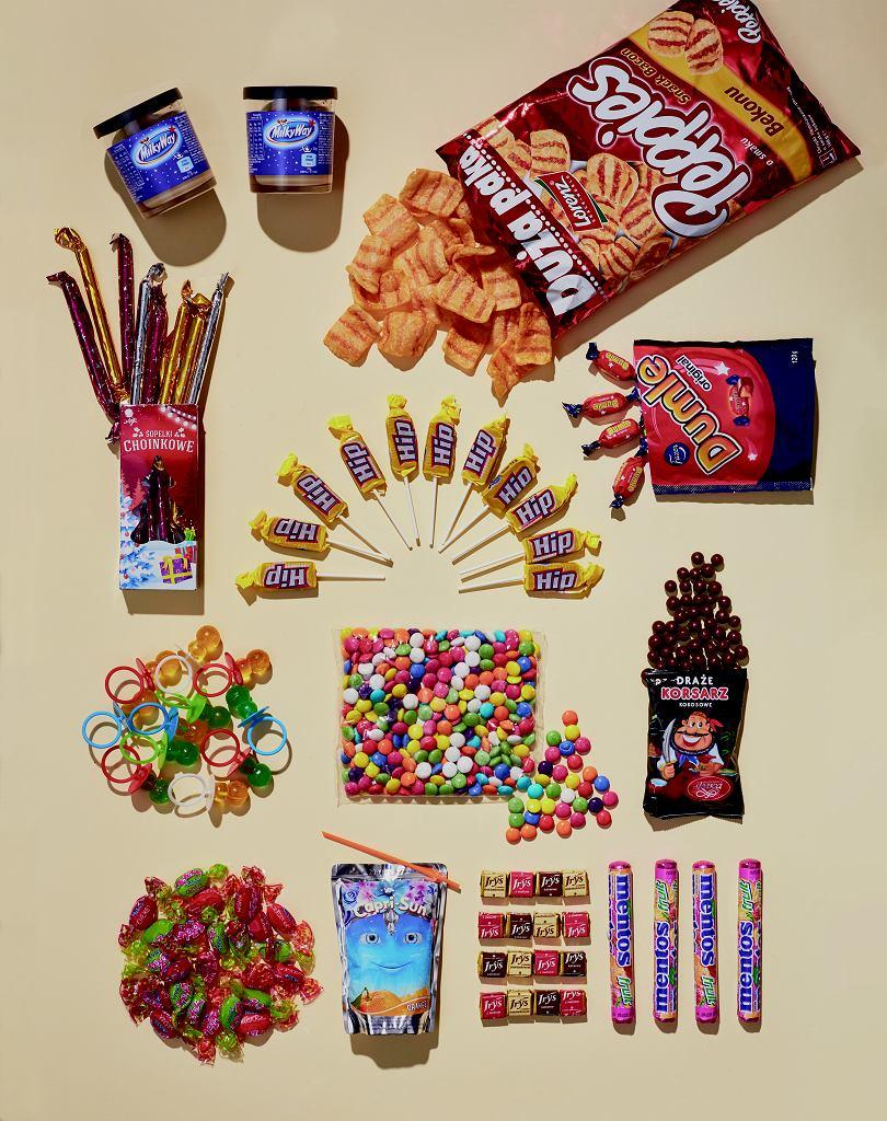 Test słodyczy z lat 90.