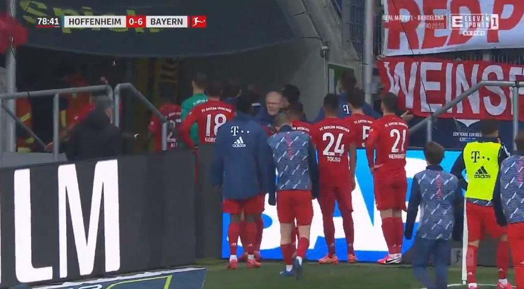 Skandal w meczu Bayernu! Zachowanie piłkarzy przejdzie do historii futbolu