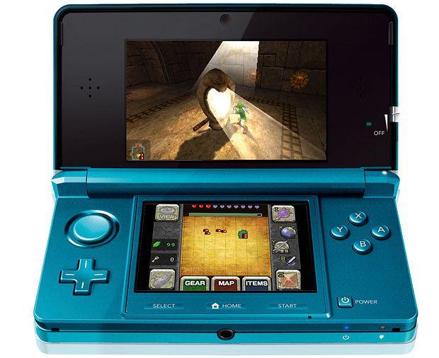 """Gry na smartfony, tablety oraz konsole, gry, smartfon, tablet, konsole, """"The Legend of Zelda: Ocarina of Time 3D"""", cena: 160 zł"""