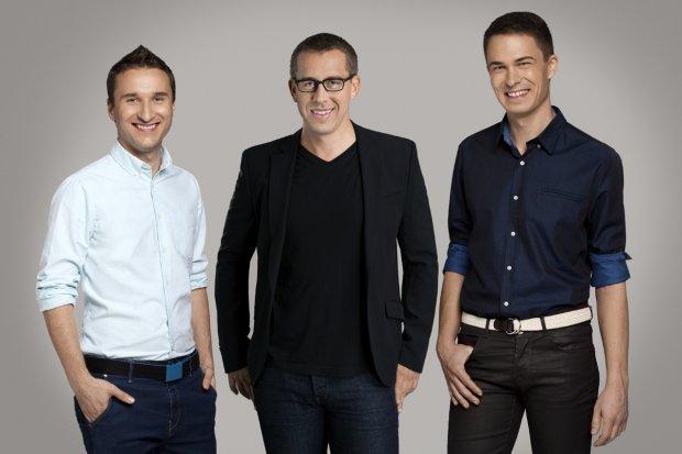 Jakub Krzych, Steve Cheney, Łukasz Kostka - założyciele Estimote