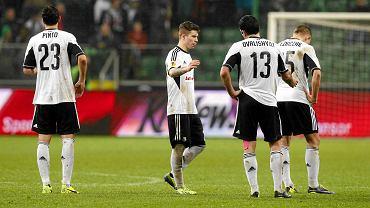 Legioniści po stracie gola z Trabzonsporem