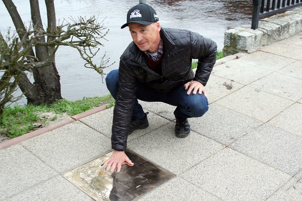 Hans Nielsen i Patryk Dudek odsłonili swoje tablice w gorzowskiej alei zwycięzców Memoriału Edwarda Jancarza