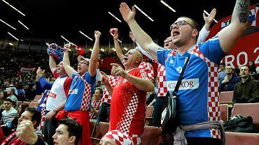 Mistrzostwa Europy w piłce ręcznej mężczyzn 2016.  Mecz Chorwacja - Islandia w Spodku