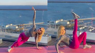 Ola Żelazo przygotowała trening na płaski brzuch