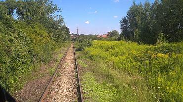Odcinek dawnej kolei piaskowej Bytom - Zabrze