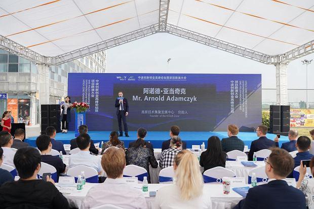Arnold Adamczyk prowadzi Chinach klaster technologiczny dla polskich firm