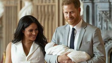 Meghan Markle, książę Harry i mały Archie Harrison