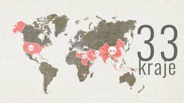 Kraje, w których grozi kara śmierci za przemyt i handel narkotykami
