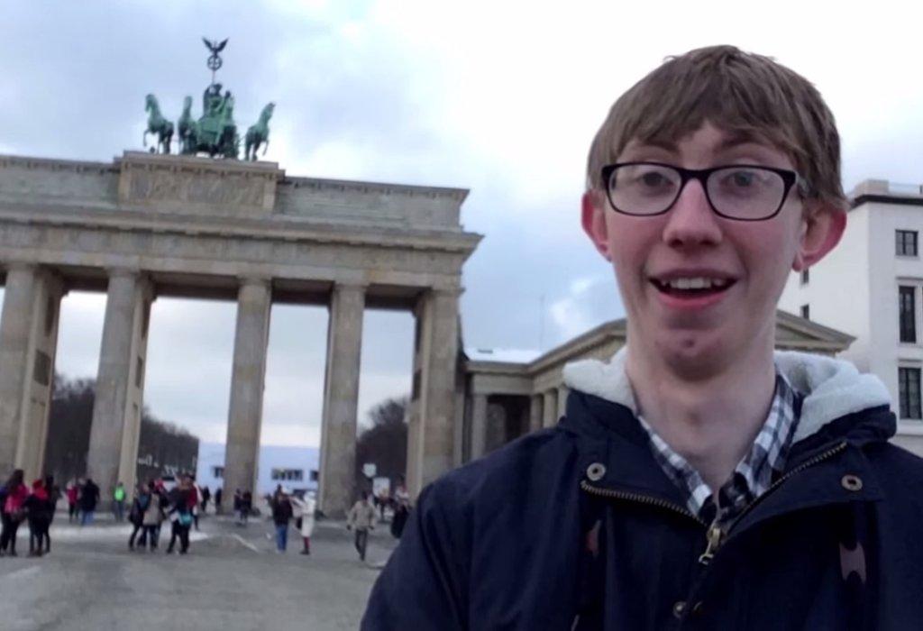 Jordon Cox w Berlinie