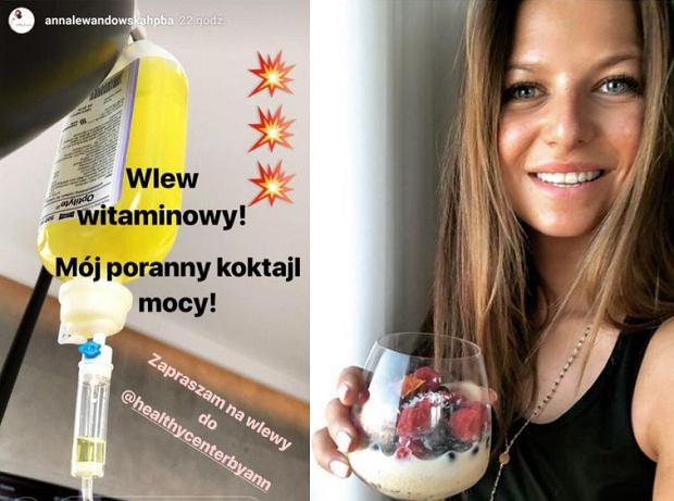 Anna Lewandowska pochwaliła się 'wlewem witaminowym' na swoim Instagramie