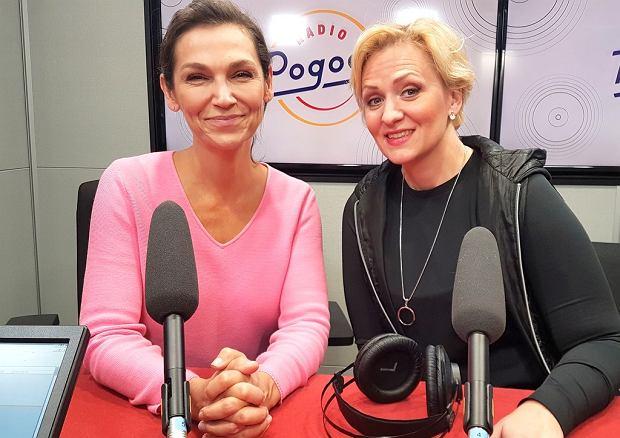 Olga Bończyk i Anna Stachowska w Radiu Pogoda
