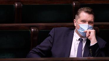 Przemysław Czarnek o błędach w podręcznikach: Nie 'naziści' a 'Niemcy'