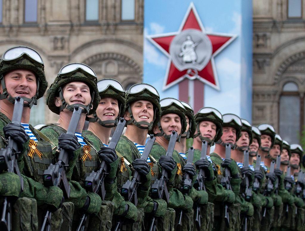 9.05.2019, Moskwa, defilada zwycięstwa na Placu Czerwonym - zdjęcie ilustracyjne