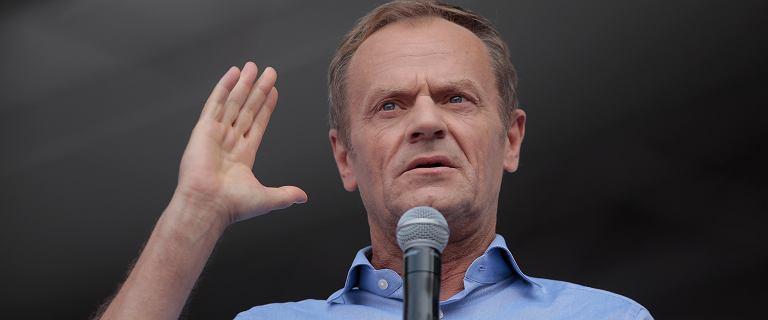 Tusk zabrał głos w sprawie Piebiaka. Przywołał swoje słowa o bolszewikach