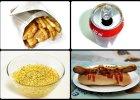 Na wakacjach jemy bardziej słono i tłusto. Sprawdzamy, ile kalorii mają popularne produkty
