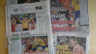 Prasa po meczu Polska - Szwecja