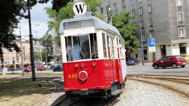 Zabytkowy tramwaj linii W