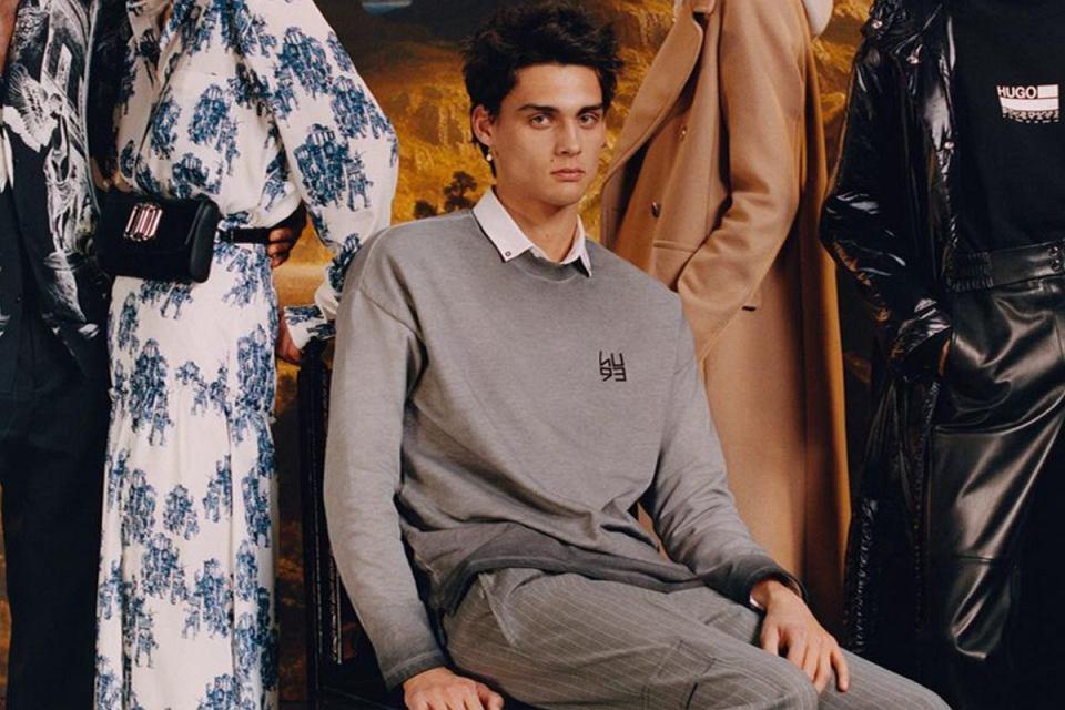 Hugo Boss swetry