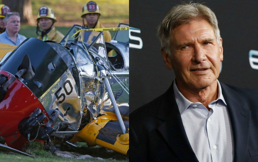 Wypadek Harrisona Forda