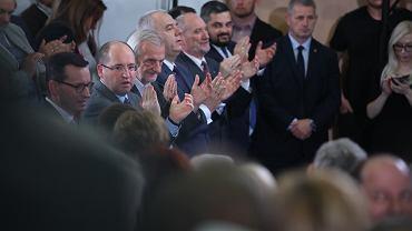 Rząd przerwał budowę elektrowni w Ostrołęce, Sasin wskazał winnego. Tym razem nie Tuska