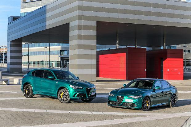 Alfa Romeo Giulia Quadrifoglio i Stelvio Quadrifoglio 2020