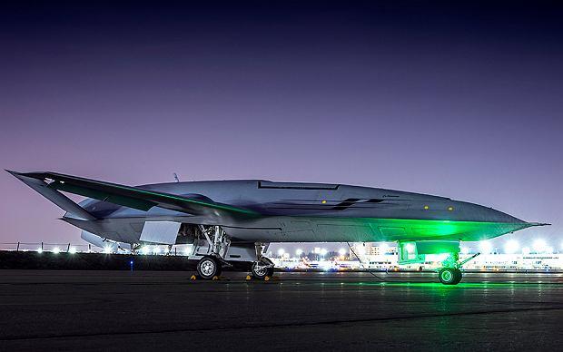 Demonstrator MQ-25 koncernu Boeing