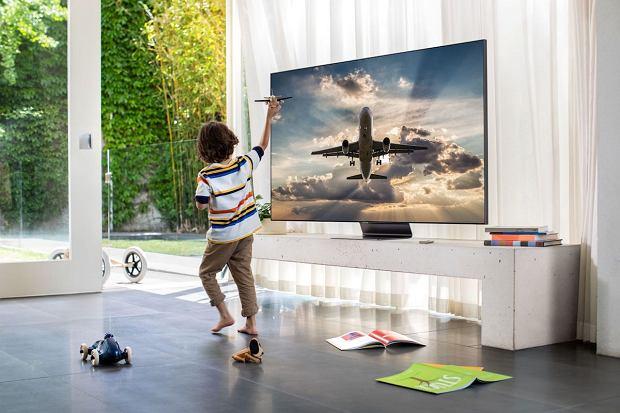Telewizor Samsung QLED Lifestyle Q90T.