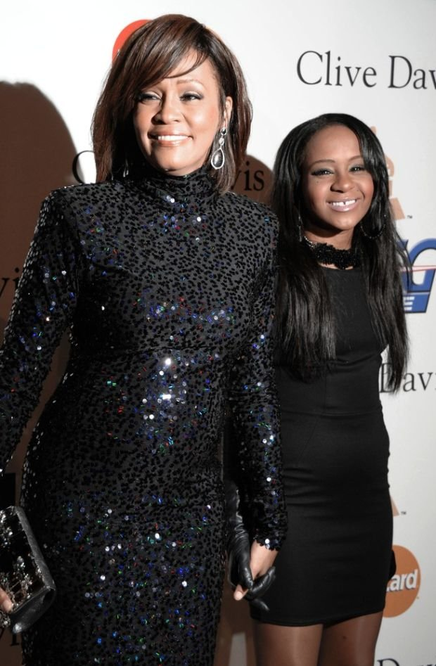 Whitney Houston i jej córka Bobbi Kristina Brown