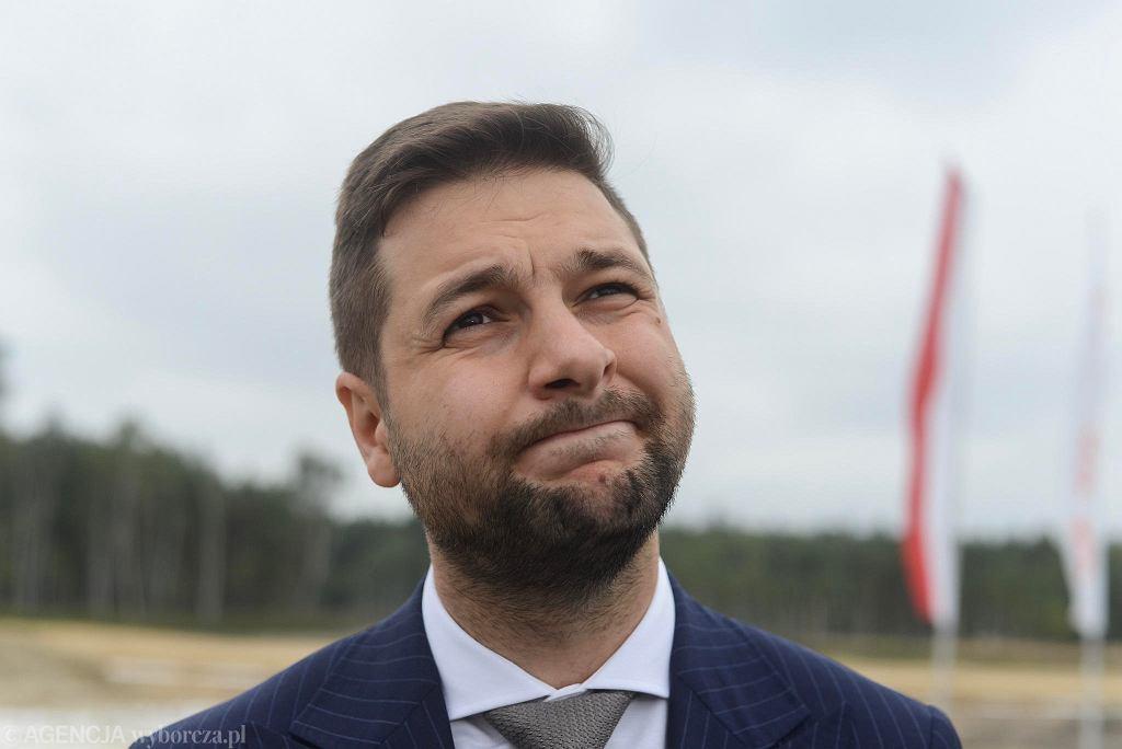 Patryk Jaki, wiceminister sprawiedliwości i kandydat PiS na prezydenta Warszawy